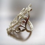 Rambling Vine Ring