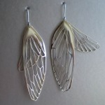 Cicada Wing Earrings